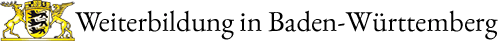 Weiterbildung in Baden-Württemberg Logo