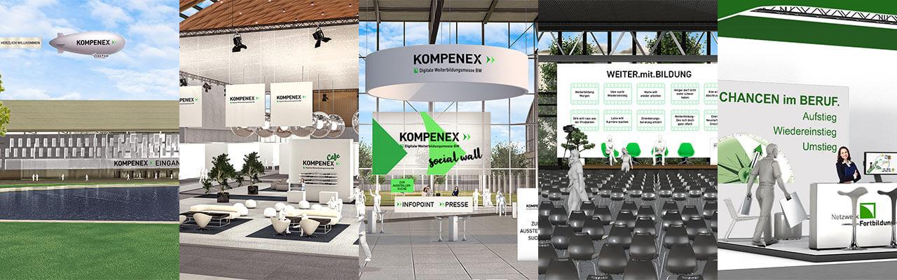KOMPENEX fünf Bilder